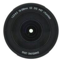 samsung 18-200mm 1:3.5-6.3 ed ois (l18200mb) schwarz