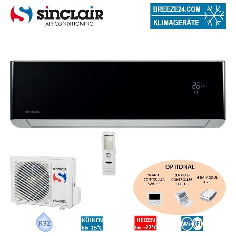 Sinclair Set ASH-09BISB R32 Wandgerät Spectrum + Außengerät - 2,7 KW