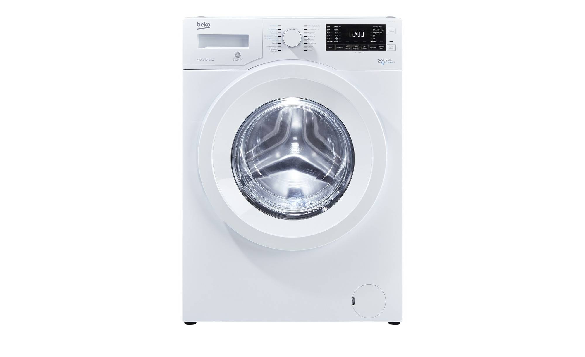 Beko Waschtrockner Waschtrockner WDW 85140 ¦ weiß ¦ Kunststoff, Edels