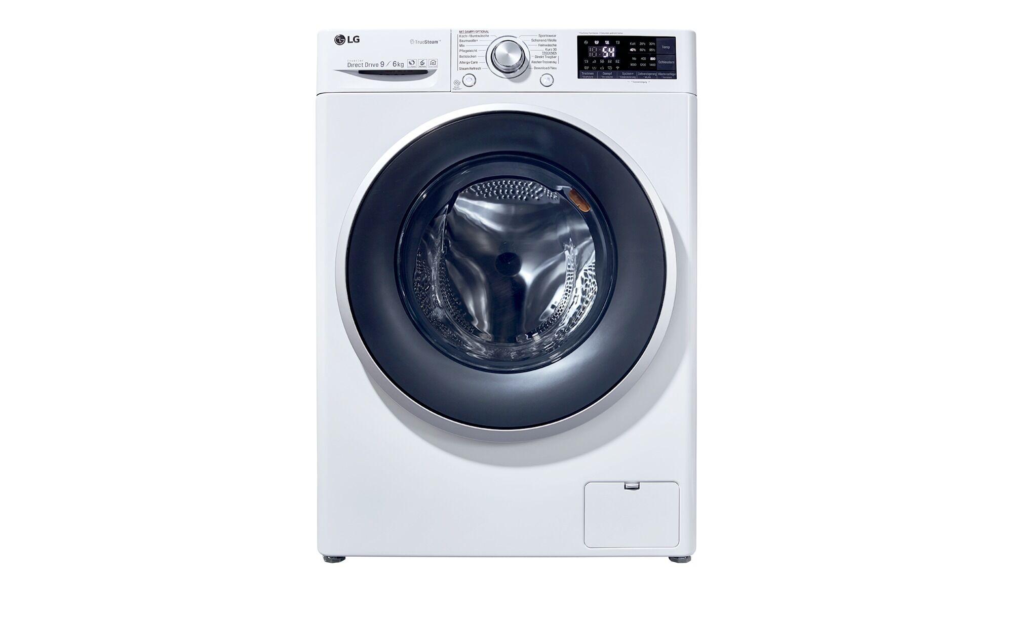 LG Electronics Waschtrockner  F 14WD96 EH1 ¦ weiß ¦ Kunststoff, Glas
