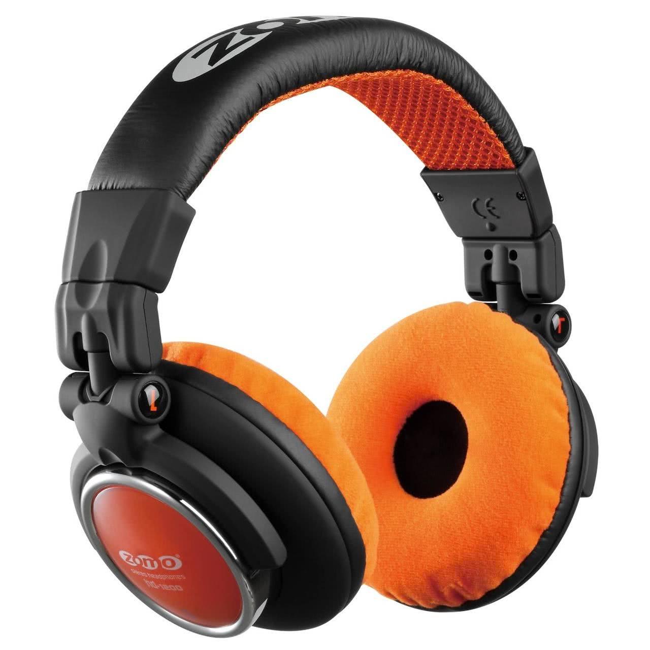 Zomo HD-1200 schwarz/orange