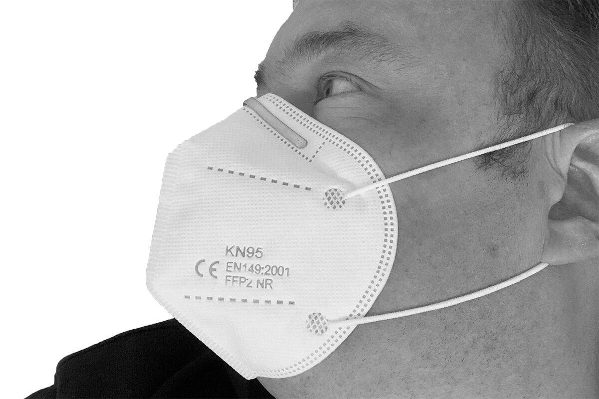 Doppelpack 2 x FFP2 Atemschutzmaske erfüllt Anforderung...