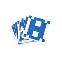 betzold vorlage-karten für Übungswürfel, 10 stück