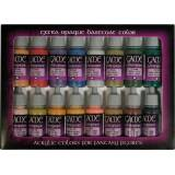 Vallejo Game Color Set: Extra Opaque Basecoat Colours (16 Farben ) - 1 Set