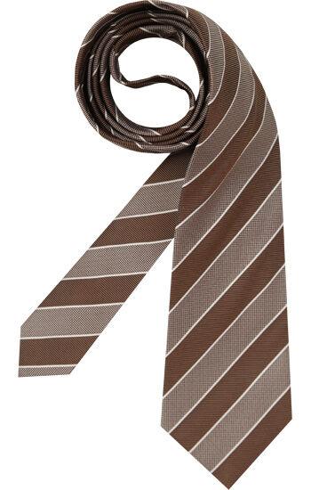 René Lezard Krawatten Herren, braun