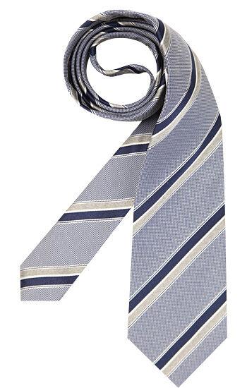 René Lezard Krawatten Herren, blau
