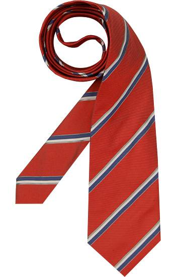 René Lezard Krawatten Herren, rot