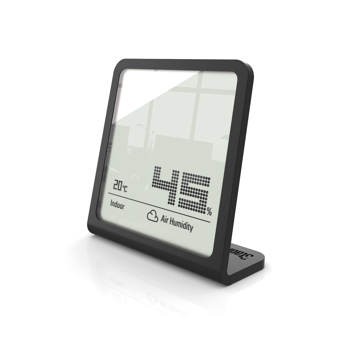 Stadler Form - Selina Thermometer / Hygrometer, schwarz