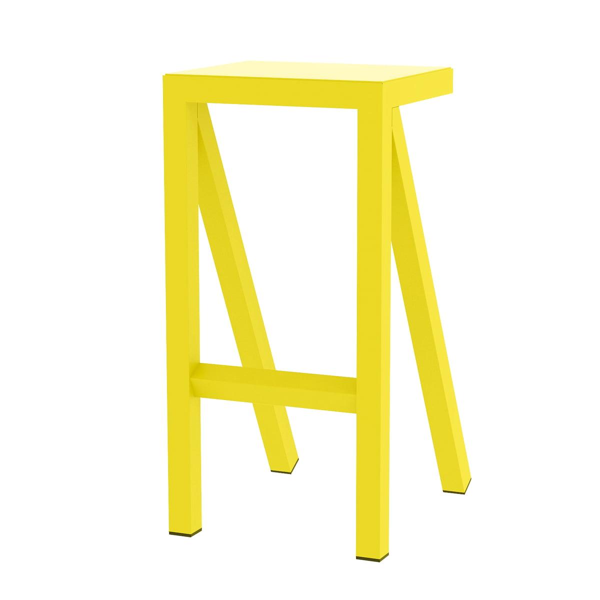 Magis - Bureaurama Küchen-Hocker H 62 cm, gelb