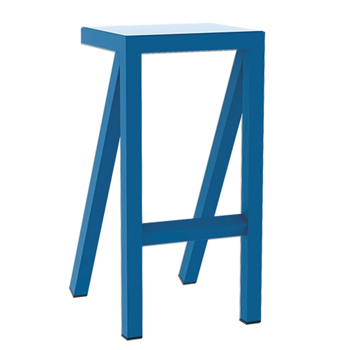 Magis - Bureaurama Küchen-Hocker H 62 cm, blau