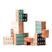 areaware - blockitecture, spielzeug holz-architektur, habitat