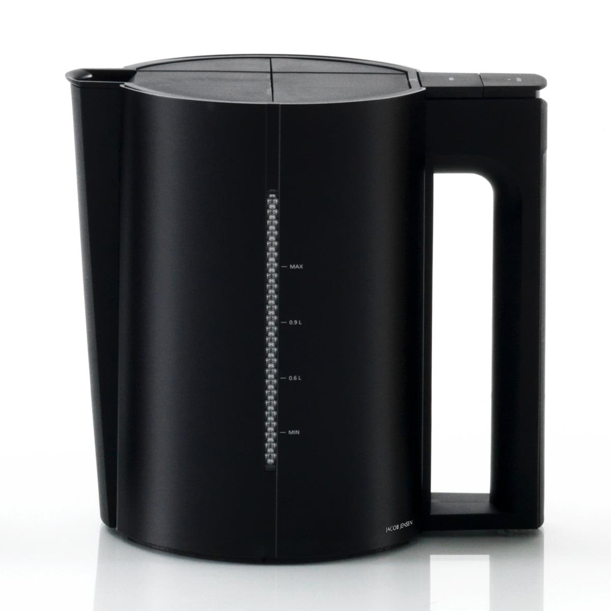 Jacob Jensen - Wasserkocher 1.2 Liter, mattschwarz