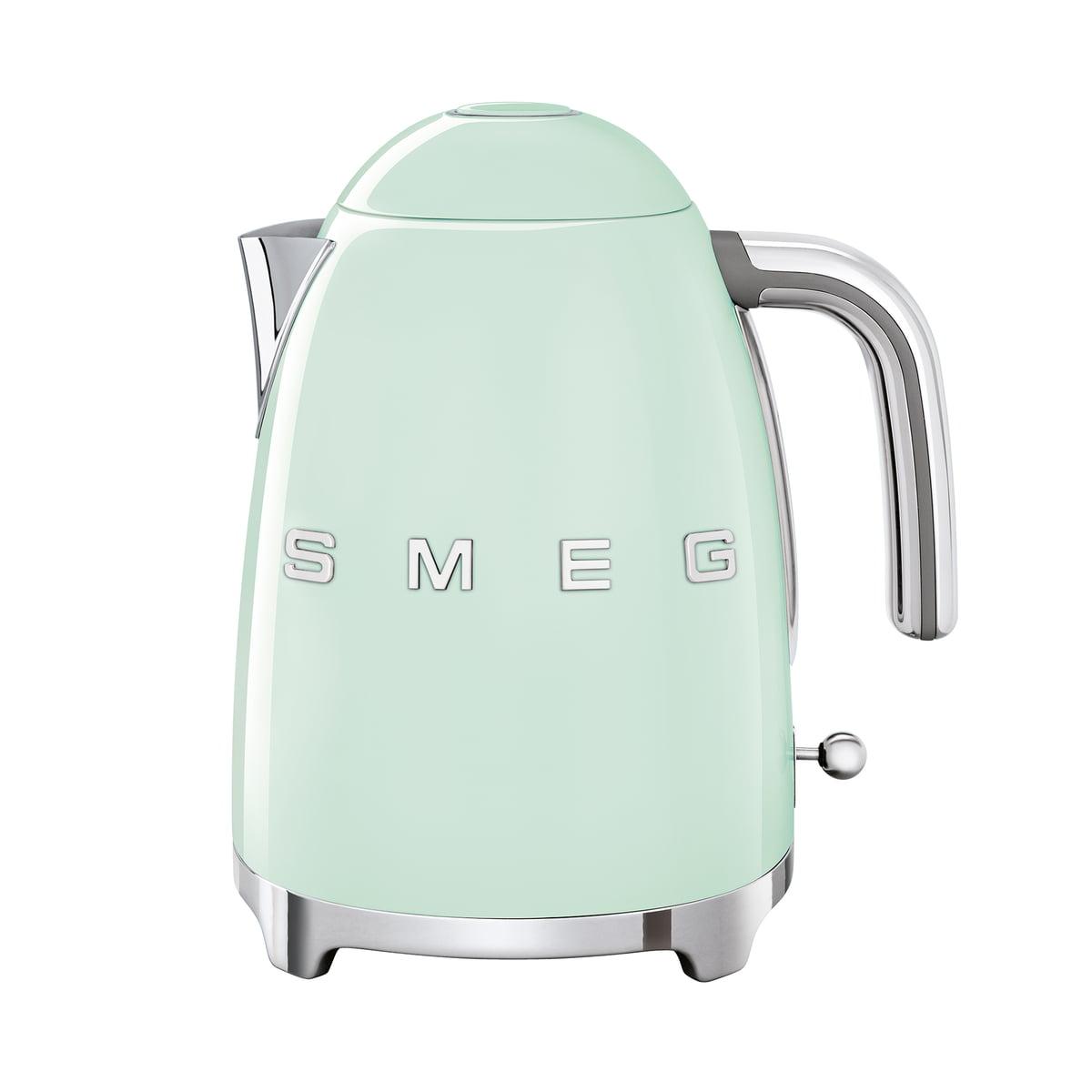 SMEG - Wasserkocher 1,7 l (KLF03), pastellgrün