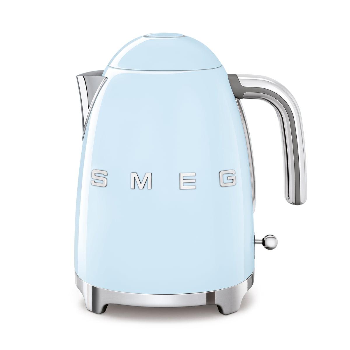 SMEG - Wasserkocher 1,7 l (KLF03), pastellblau