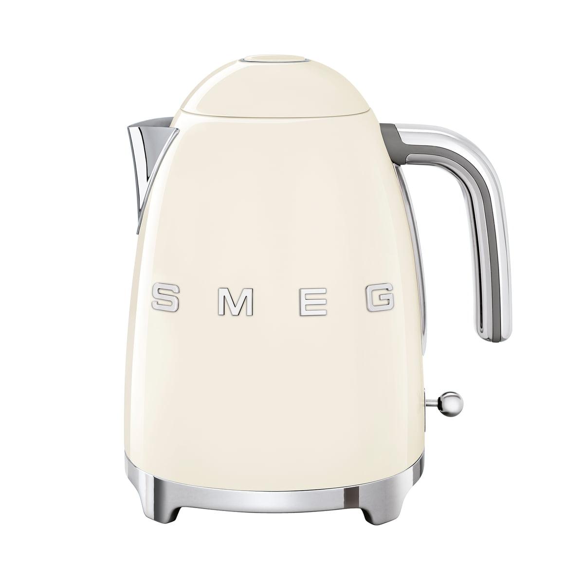 SMEG - Wasserkocher 1,7 l (KLF03), creme