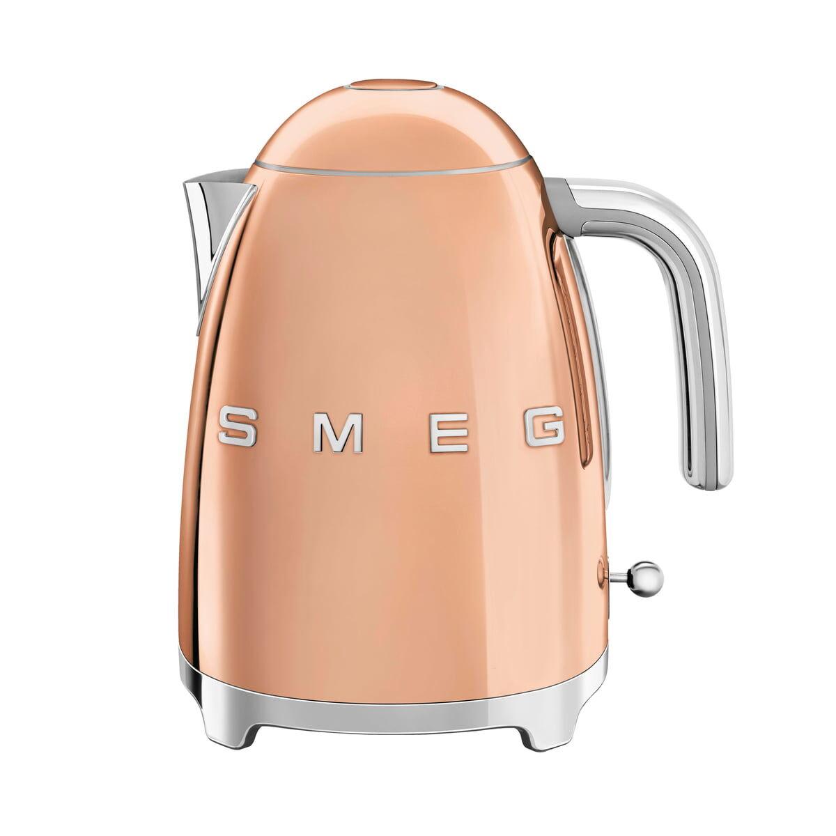 SMEG - Wasserkocher 1,7 l (KLF03), rosegold