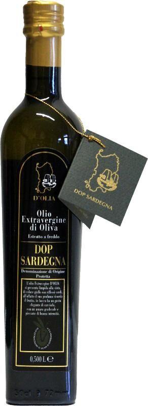 Dolianova Olivenöl Extra vergine DOP Sardegna Olio D′Olia (500ml)   Dolianova