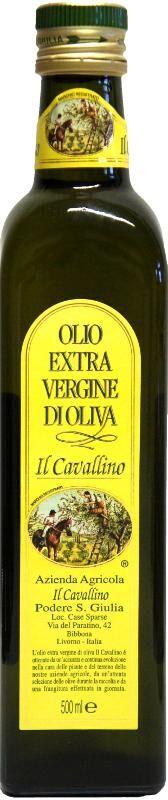 Salvadori Olio Extra Vergine IL CAVALLINO (0,25l)  Salvadori