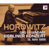 vladimir horowitz - das legendäre berliner konzert 18. mai 1986 - 2 cd multipack mit moderation - preis vom 08.08.2020 04:51:58 h