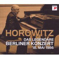 vladimir horowitz - das legendäre berliner konzert 18. mai 1986 - 2 cd/buch ohne moderation limitierte erstauflage - preis vom 08.08.2020 04:51:58 h