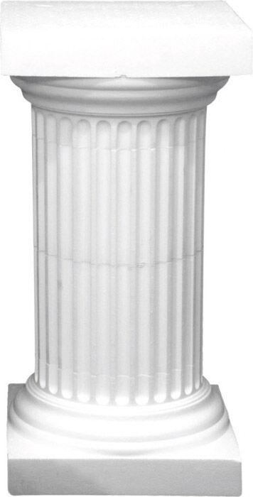 EUROPALMS Säule Athen Kapitell, Styropor, 20cm