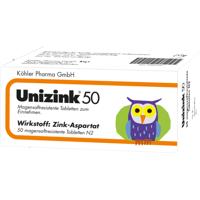köhler pharma gmbh unizink 50 magensaftresistente tabletten 50 st