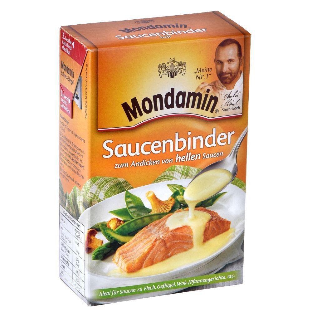 Mondamin 3 x 250 g Mondamin Saucenbinder hell
