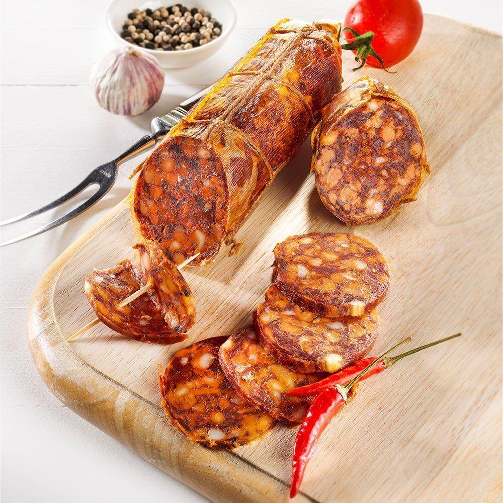 Chorizo vom Bunten Bentheimer Schwein, im Stück