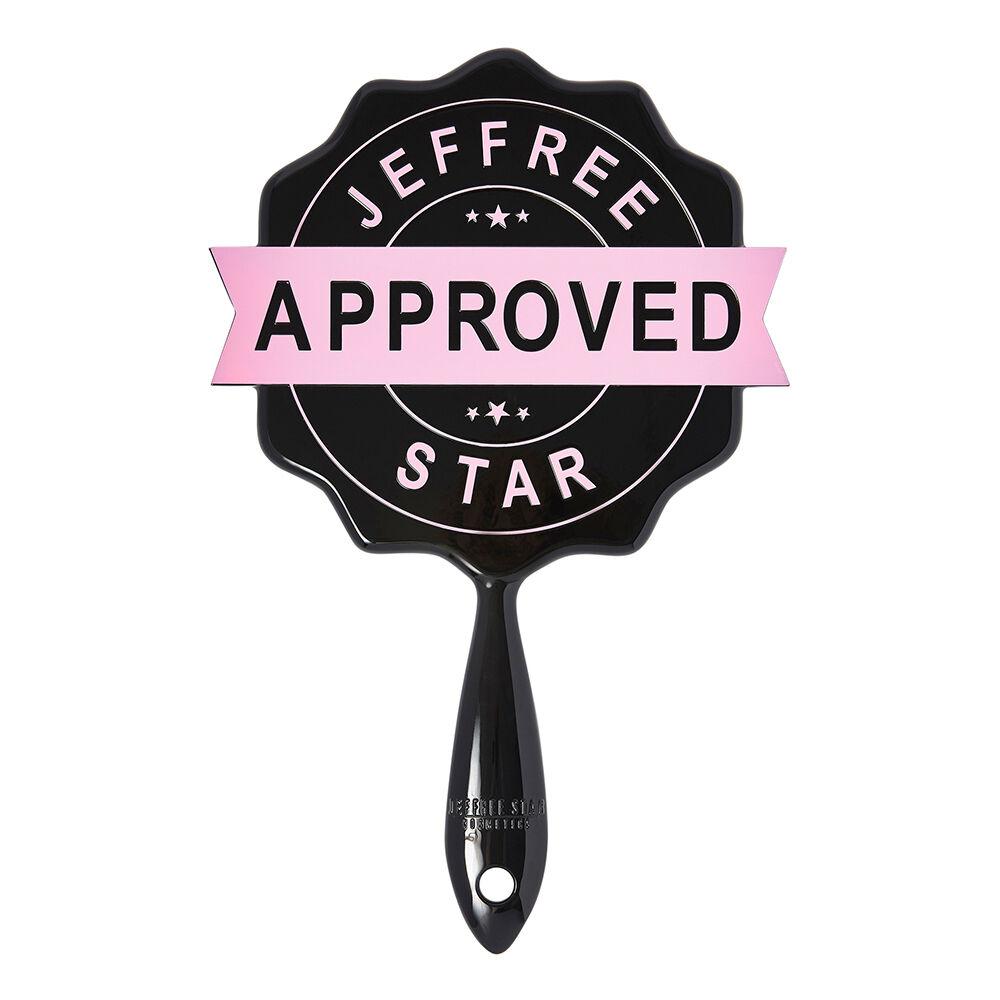 Jeffree Star Cosmetics Black Approved Stamp Mirror