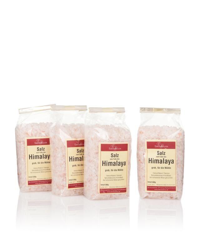 """Biller's Gewürze & Tee 4x Salz vom Fuße des """"Himalaya"""""""