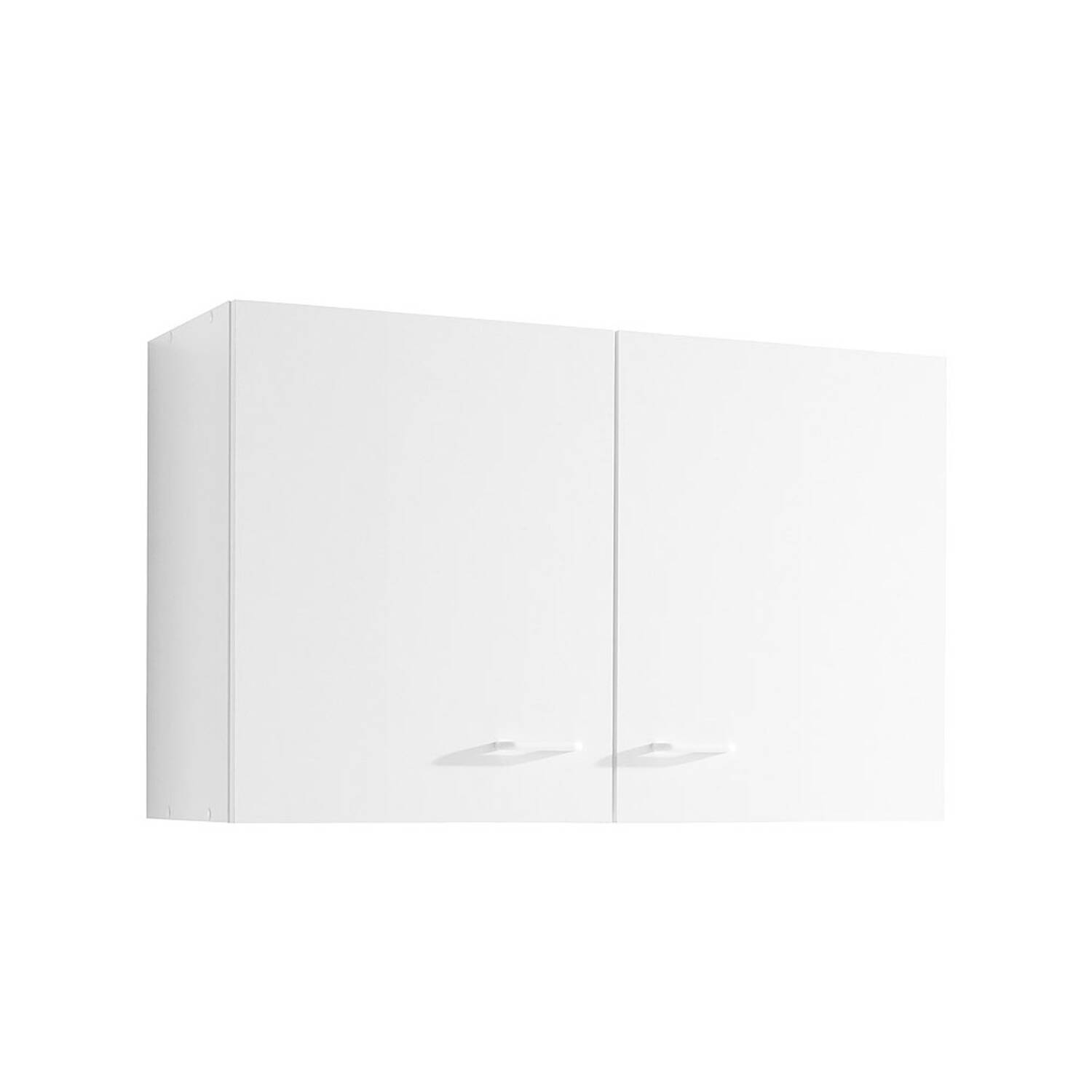 Küchen-Hängeschrank 2-türig SALERNO-03 Weiß Breite 80 cm