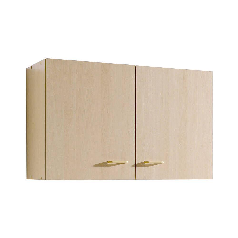 Küchen-Hängeschrank 2-türig SALERNO-03 Buche Dekor Breite 80 cm