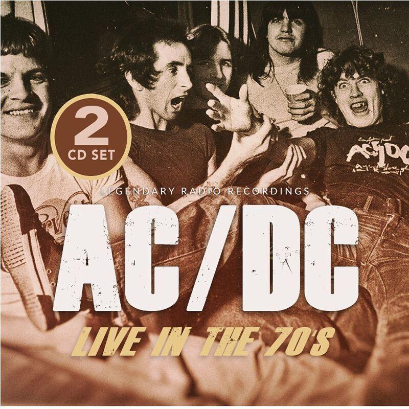 AC/DC Live in the 70s - CD-multicolor multicolor
