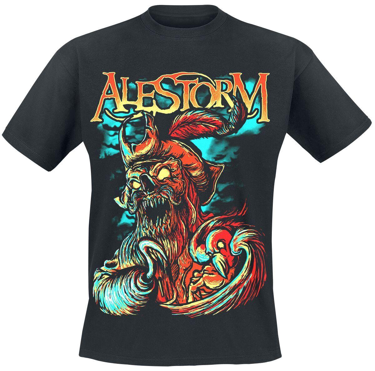 Alestorm Get Drunk Or Die Herren-T-Shirt  - Offizielles Merchandise schwarz