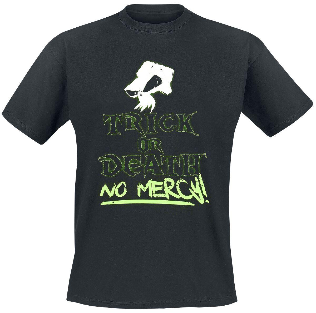 Trick Or Death No Mercy! Herren-T-Shirt schwarz