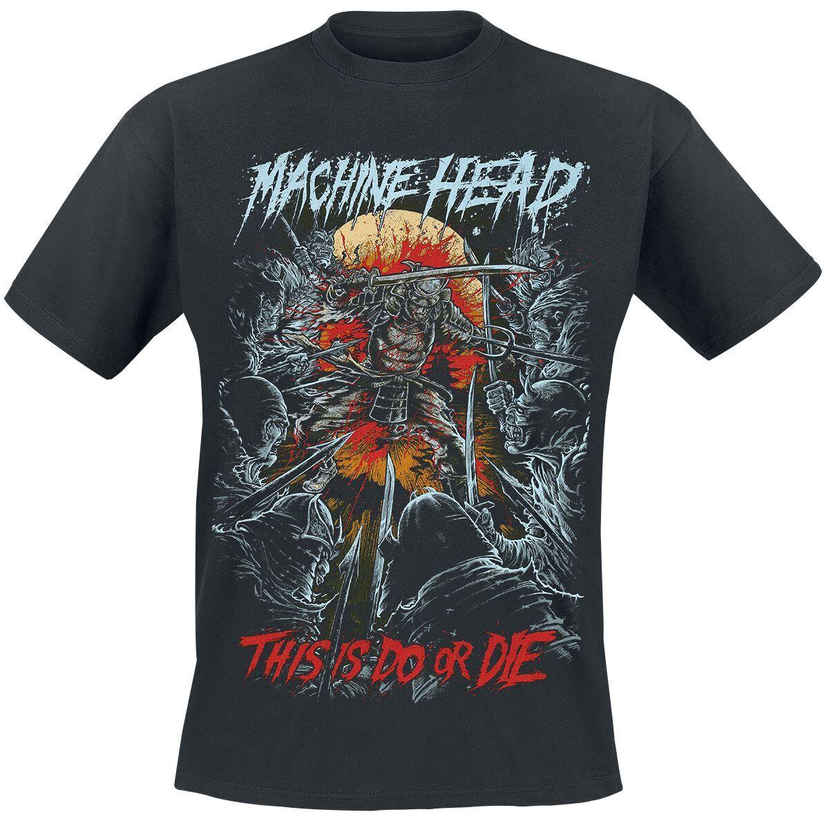 Machine Head Do Or Die (TTT) Herren-T-Shirt  - Offizielles Merchandise schwarz