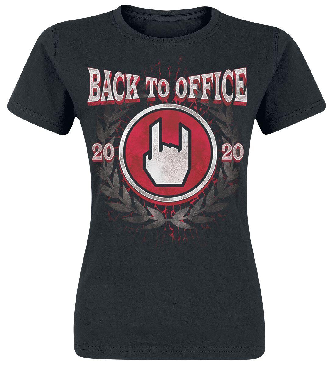 Back To Office 2020 Damen-T-Shirt schwarz