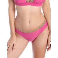 sassa bikini slip colorful stripe sassa pink  40,42,44