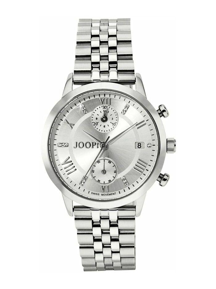 JOOP! Chronograph für Damen, Edelstahl mit Metallband JOOP! Silber  001