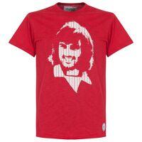 copa george best repeat logo t-shirt - rot - l