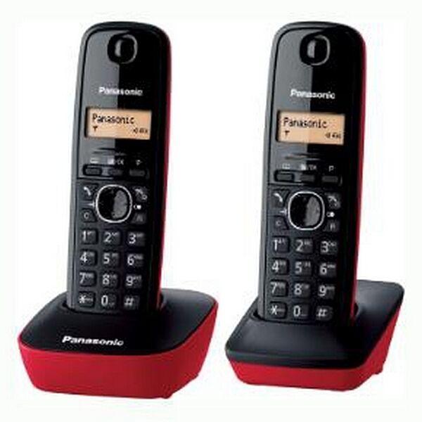 Panasonic Kabelloses Telefon Panasonic Corp. KX-TG1612SPR DECT Negr...
