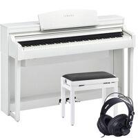 yamaha clavinova csp-170 digitalpiano weiß set