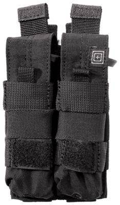 5.11 Tactical 5.11 Double Pistol Bungee/ Cover (Black 019)