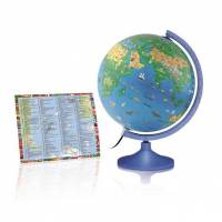 atmosphere kinder-leuchtglobus atmosphere family silver kinderglobus globus globe earth ...