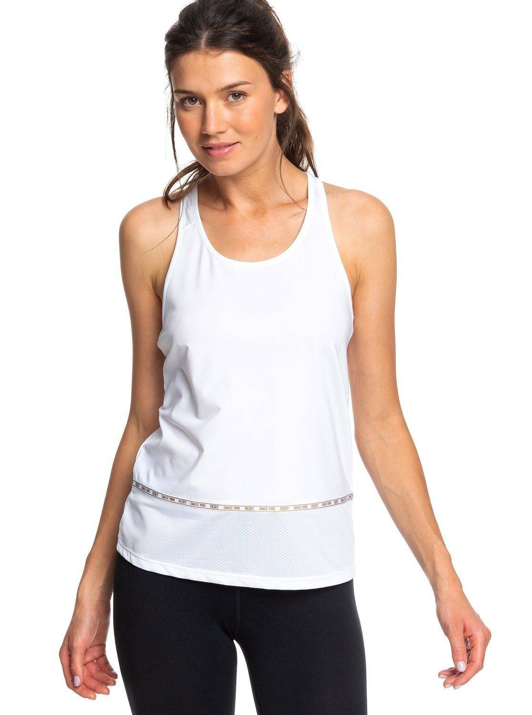 Roxy Trainingsshirt »Back To Coolangatta«, weiß