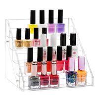 mybeautyworld24 »nagellackständer aus acryl aufbewahrung von ca. 30 nagellackflaschen« nagellackhalter