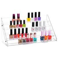 precorn »nagellackständer acrylständer nagellack nagellackregal lippenstiftständer aufbewahrung von nagellackflaschen nagellackdisplay« nagellackhalter, (70-tlg)