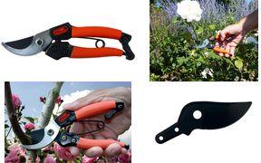 Garten PRIMUS Ersatzklinge für Damen-Gartenschere Klinge aus spezialgehärtetem Stahl, antihaftbeschichtete - 1 Stück (01021)