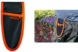 Garten PRIMUS Universal-Gürteltasche, schwarz/orange immer griffbereit, für Gartenschere, Smartphone, - 1 Stück (03005)