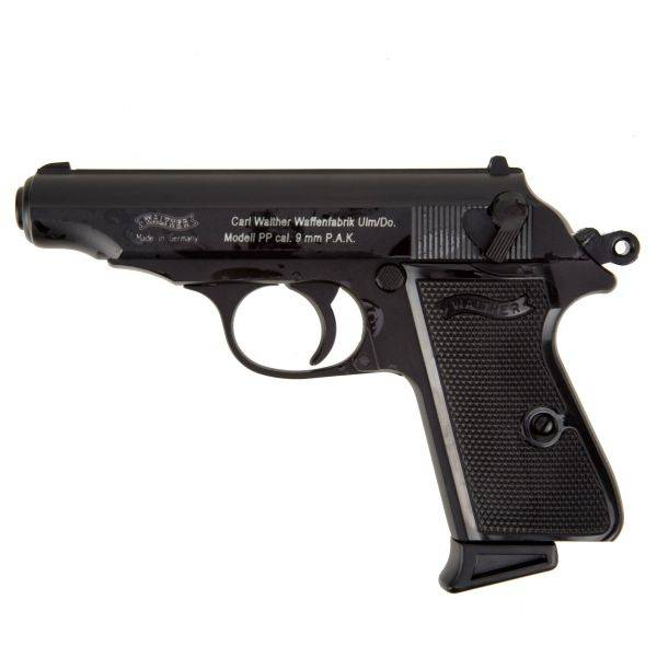 Walther Pistole Walther PP brüniert